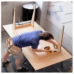 Сборка столов по низким ценам в Самаре от специалистов
