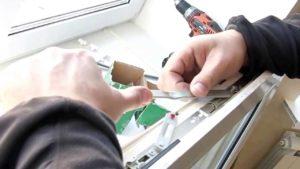 Ремонт фурнитуры пластиковых окон