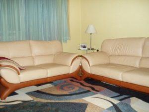 Перетяжка кожаной мебели в Самаре